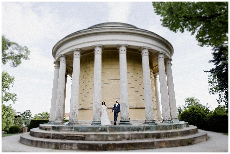 Hochzeitsshooting Leopoldinentempel Schlosspark Eisenstadt