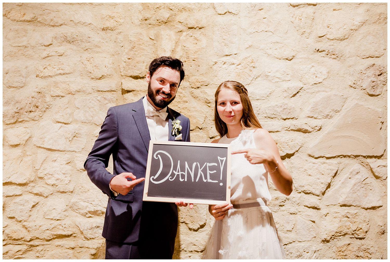 Danke Christina und Lukas Hochzeit Kalandahaus Trausdorf Eisenstadt