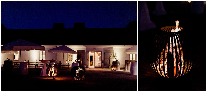 Aussenansicht Abend der Hochzeitslocation Kalandahaus Trausdorf Eisenstadt